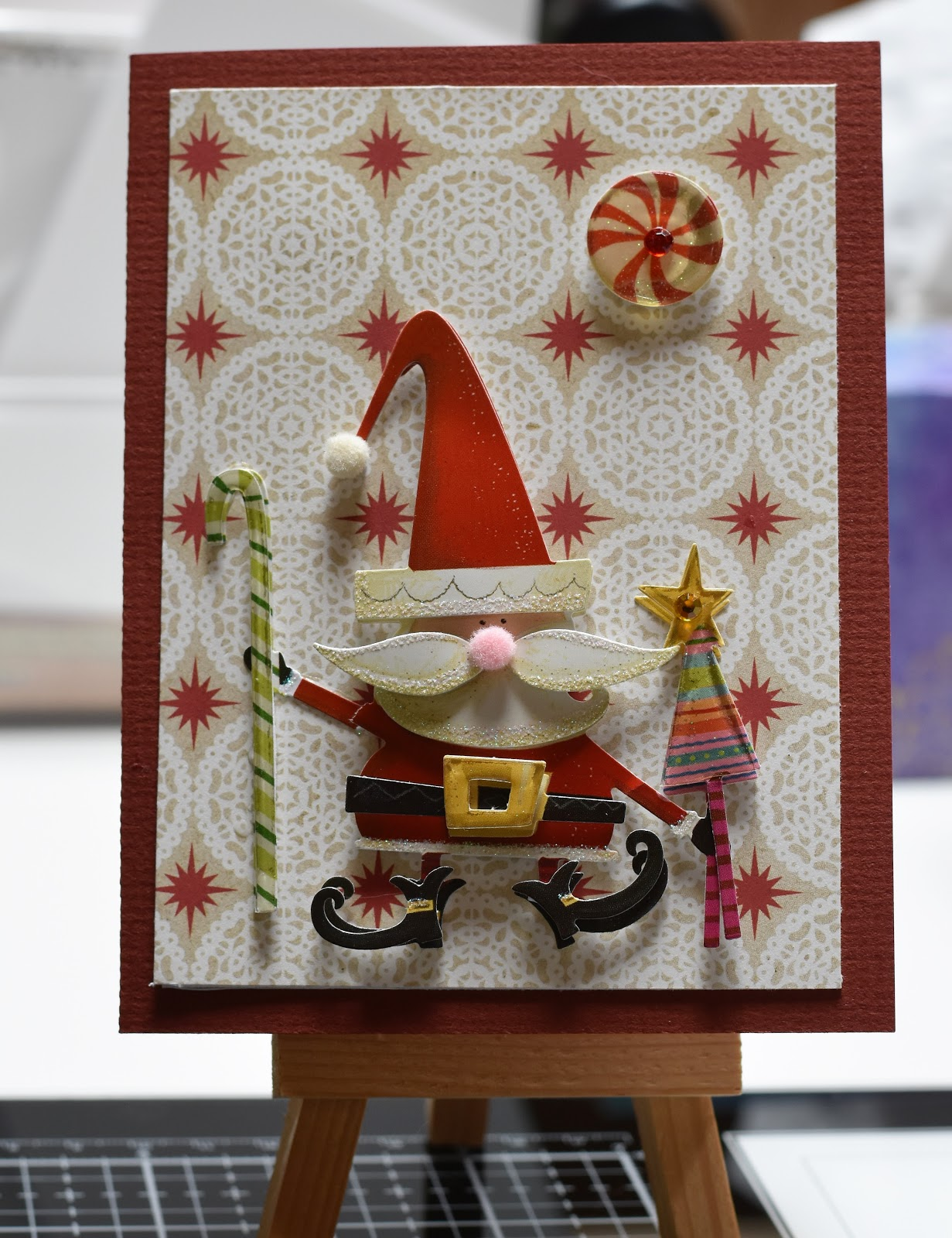 Creative Inkspirations: Christmas Cards from Leftovers..