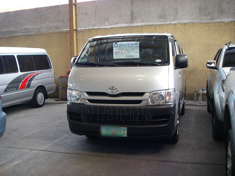 090e4c3cbf Cars For Sale in the Philippines  Toyota Hiace Commuter Manual Diesel