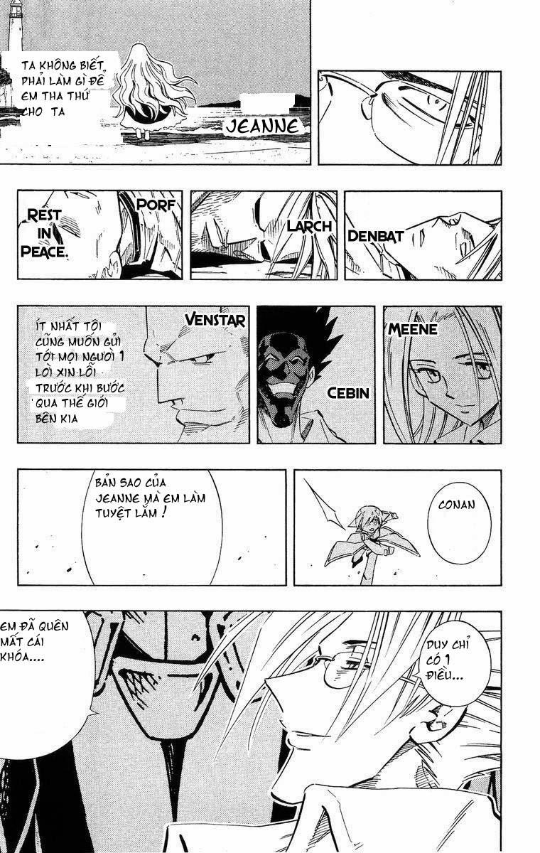 Shaman King [Vua pháp thuật] chap 218 trang 10