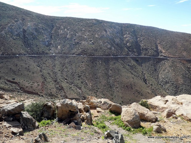 carreteras en Fuerteventura