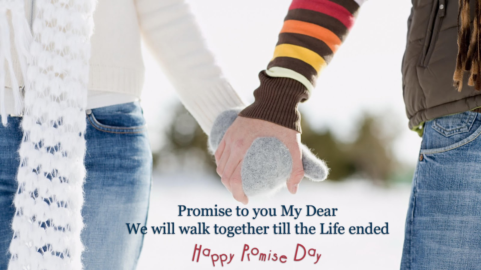Happy Promise Day WhatsApp Status Facebook Post