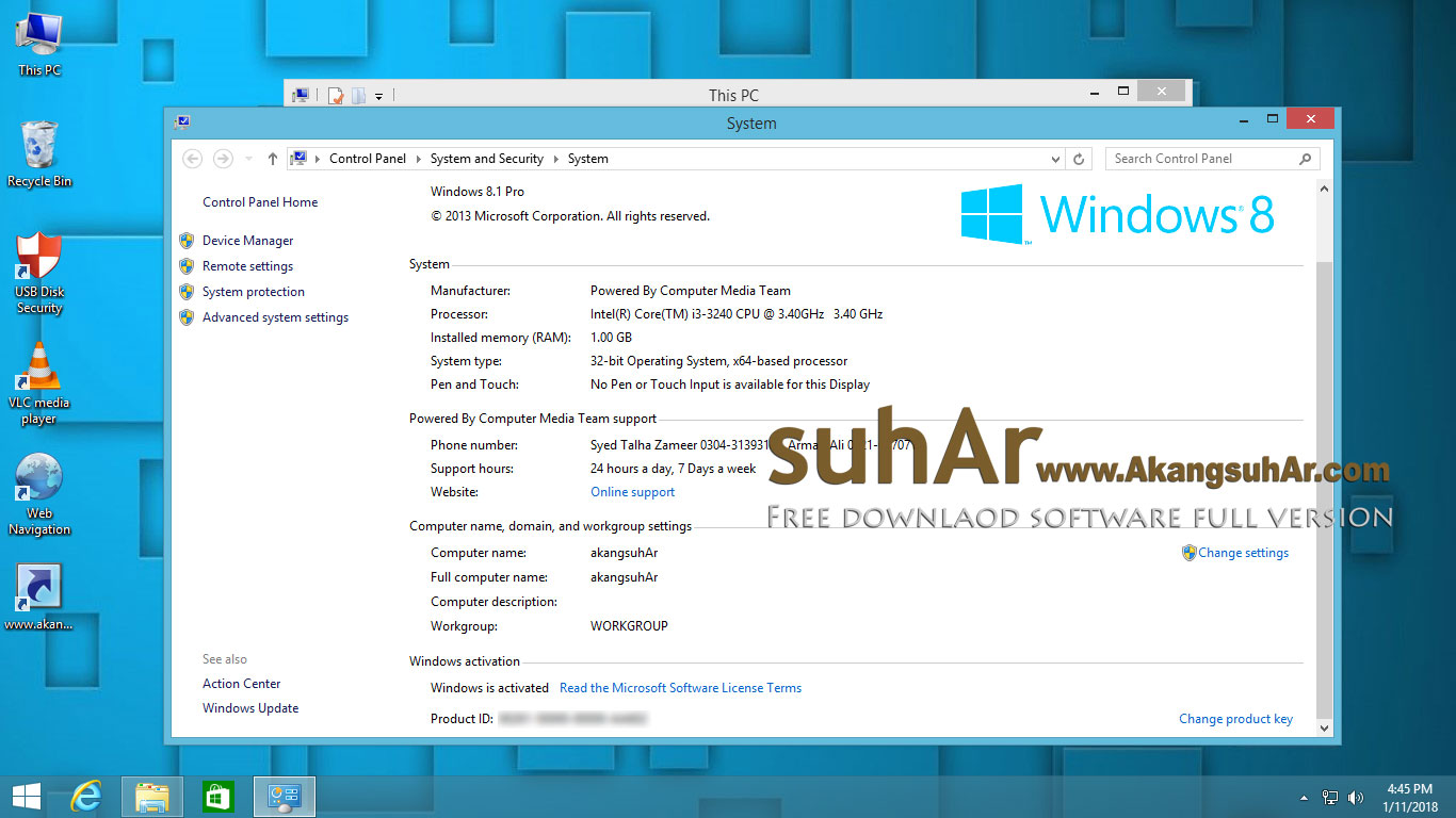 Download Windows 8.1 Super Lite Edition 2017 Pre Activated