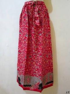 Koleksi Model Rok Batik Panjang