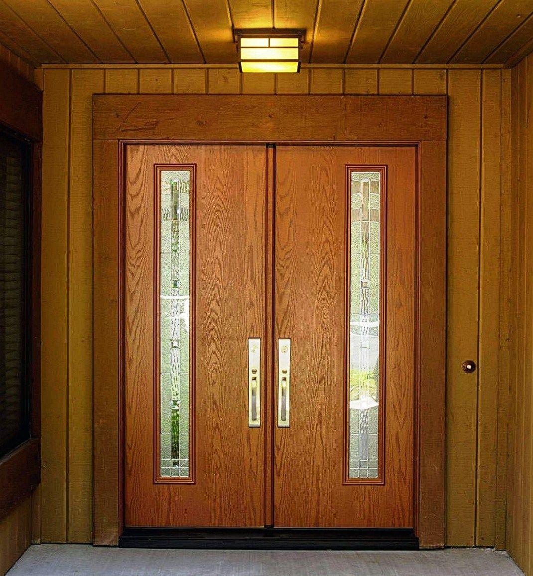 Model Daun Pintu Kupu Tarung Minimalis