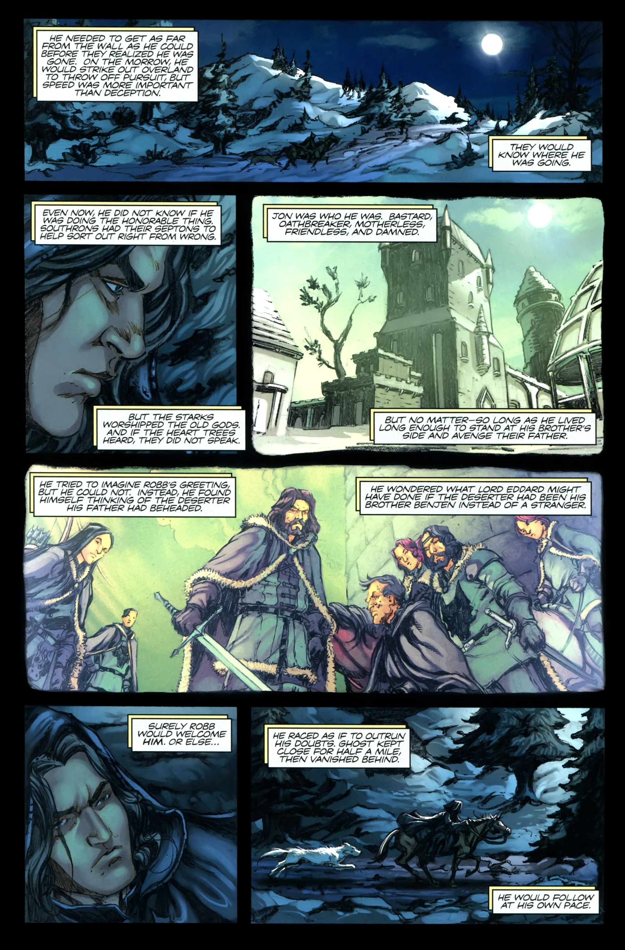 Read online A Game Of Thrones comic -  Issue #24 - 4