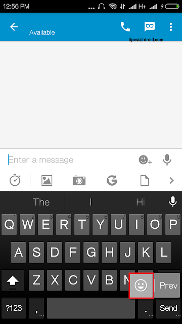 Cara mudah memasang emoji emoticon gratis dari Google Keyboard - Steep 1