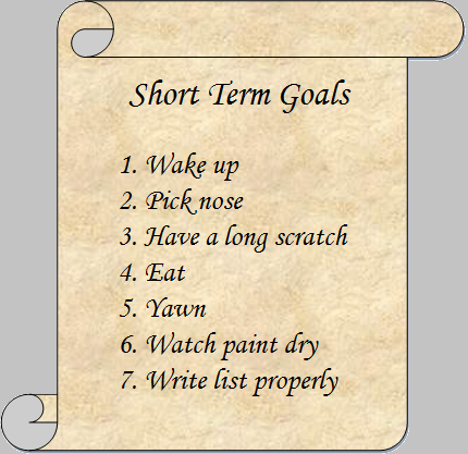 Setting Goals for Weight Loss