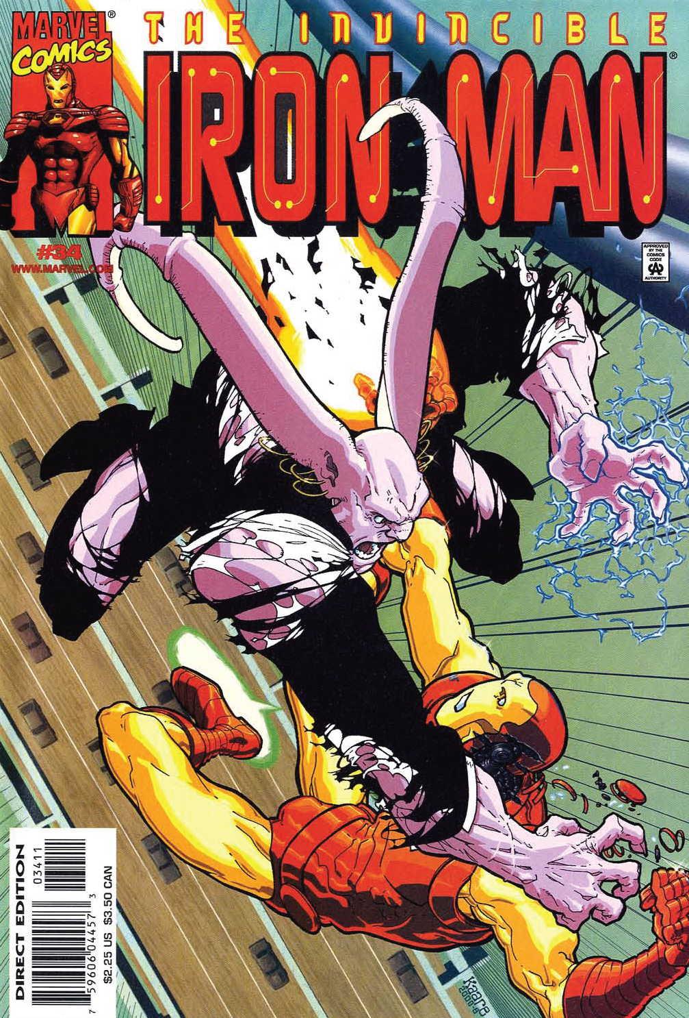 Iron Man (1998) 34 Page 1
