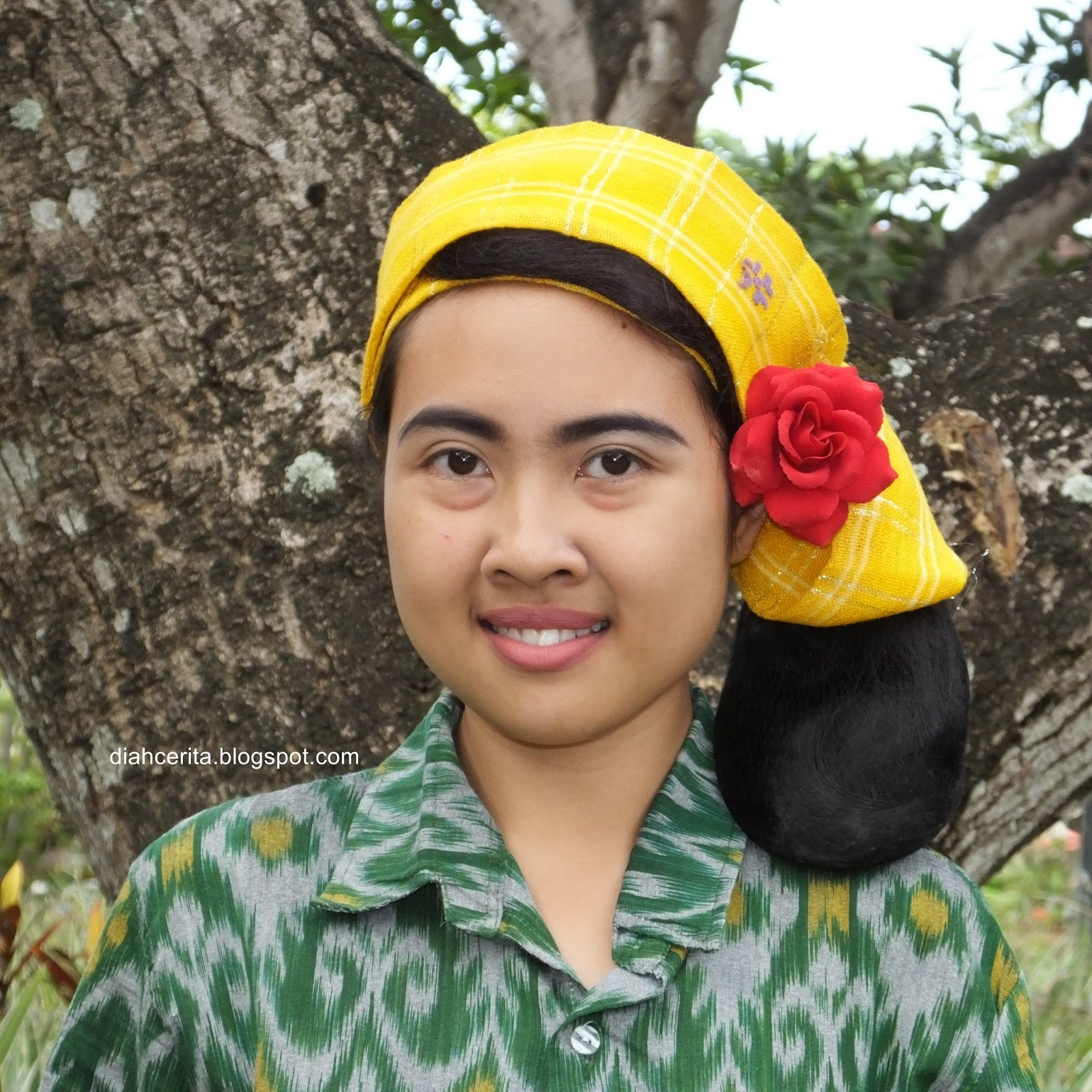 Tata Rambut Tradisional Bali