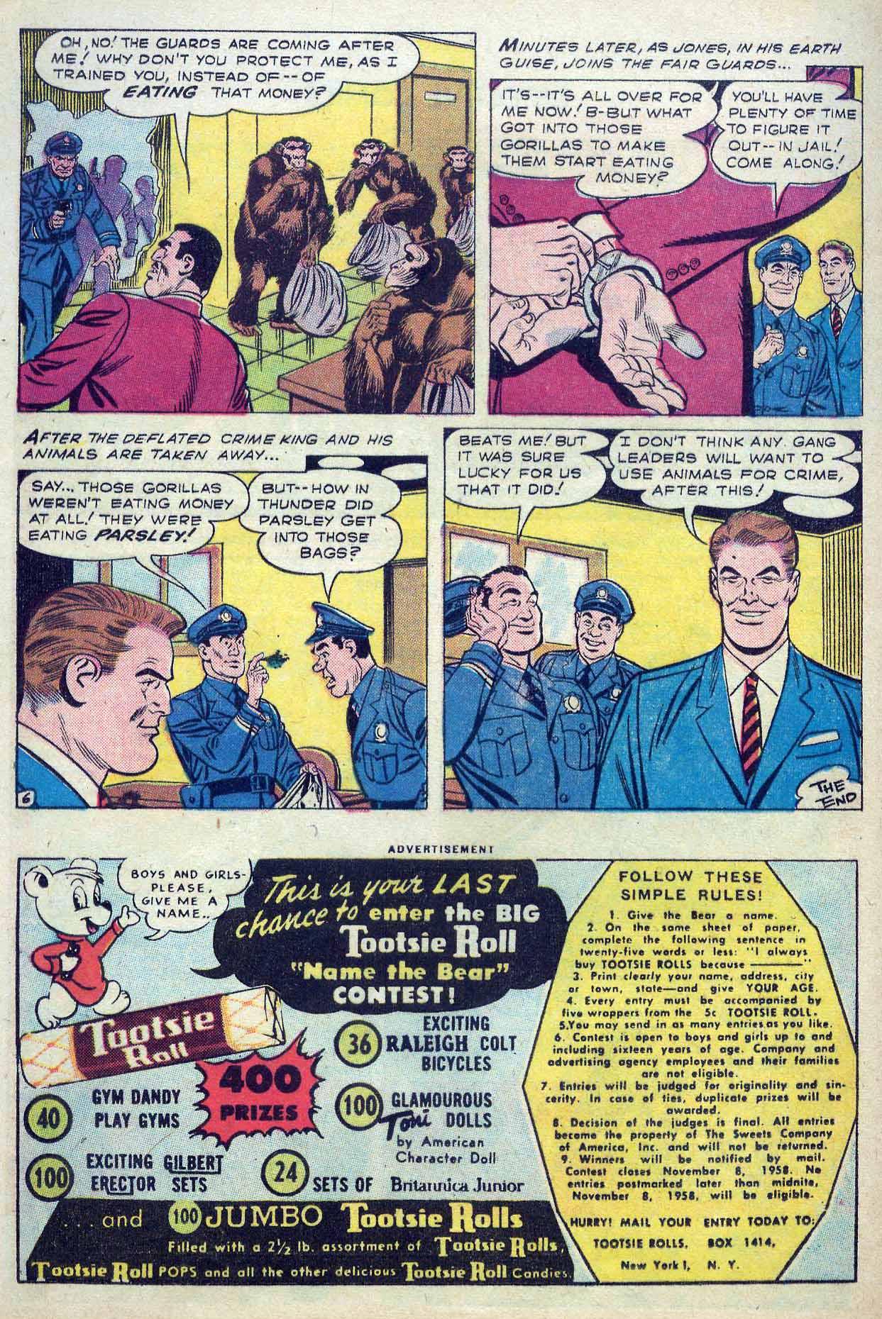 Read online Detective Comics (1937) comic -  Issue #262 - 32