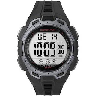 TIMEX NEW Marathon Digital Full-Size Black / Silver TW5K94600