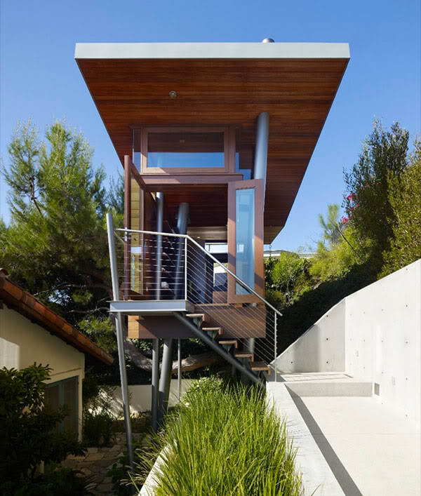 Luxury House In Los Angeles California: Bedroom Design Blog: Tree House Rental