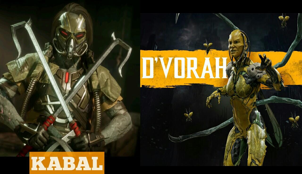Mortal Kombat 11 fighter Kabal and D'Vorah confirmed