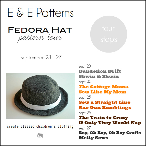 047f3849 Oh, and PS – there is a 15% discount code for the Fedora Hat pattern this  week (Sept 23-27) it's FEDORA15. And today is your last day to use it!