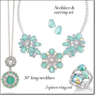 Avon Steele Magnoilas Jewelry Collection