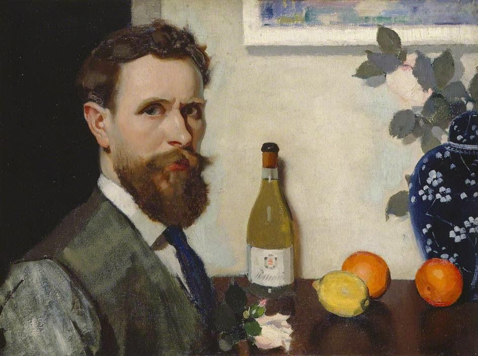 Adolphe  Valette  c  Self  Portrait