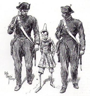 Ilustración de Pinocchio por Carlo Chiostri