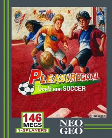 Pleasure Goal+arcade+game+portable+art+flyer