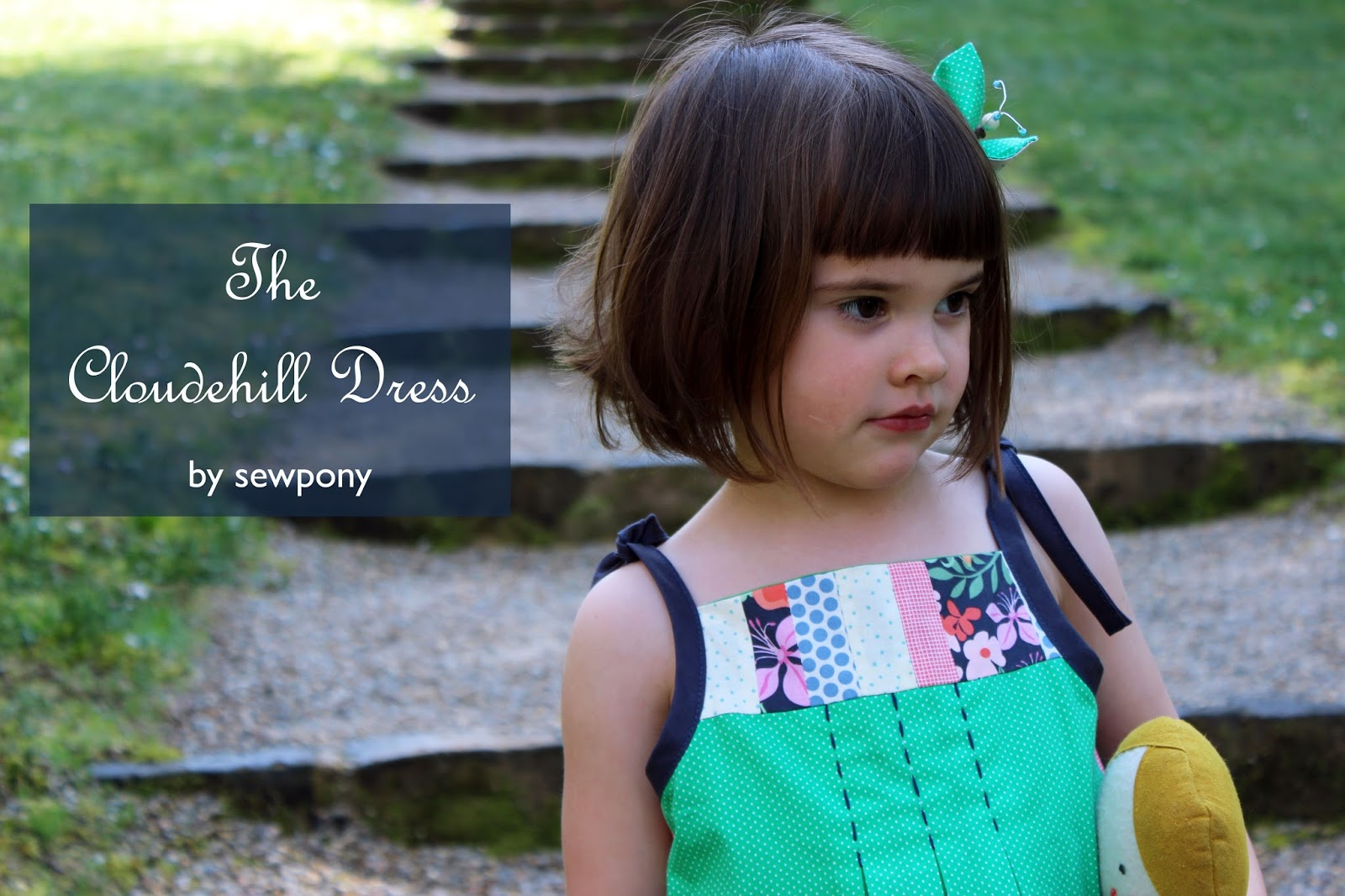d93d572c587 The Cloudehill Dress is my creation for the Oliver + S popover dress remix  challenge!. The popover dress pattern is a sweet and simple A-line dress  with ...