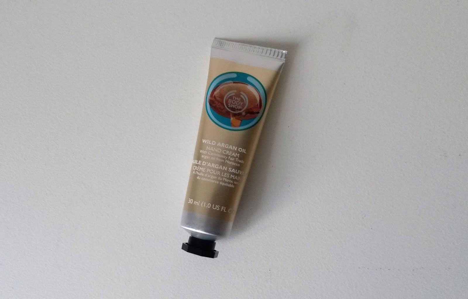 Coffret The Body Shop Huile d'argan sauvage crème mains
