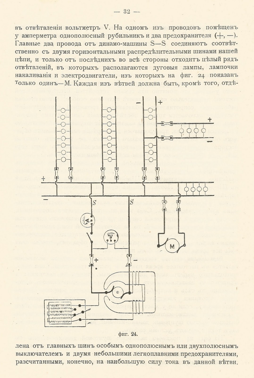 Электрификация. Дореволюционный учебник для электротехников.