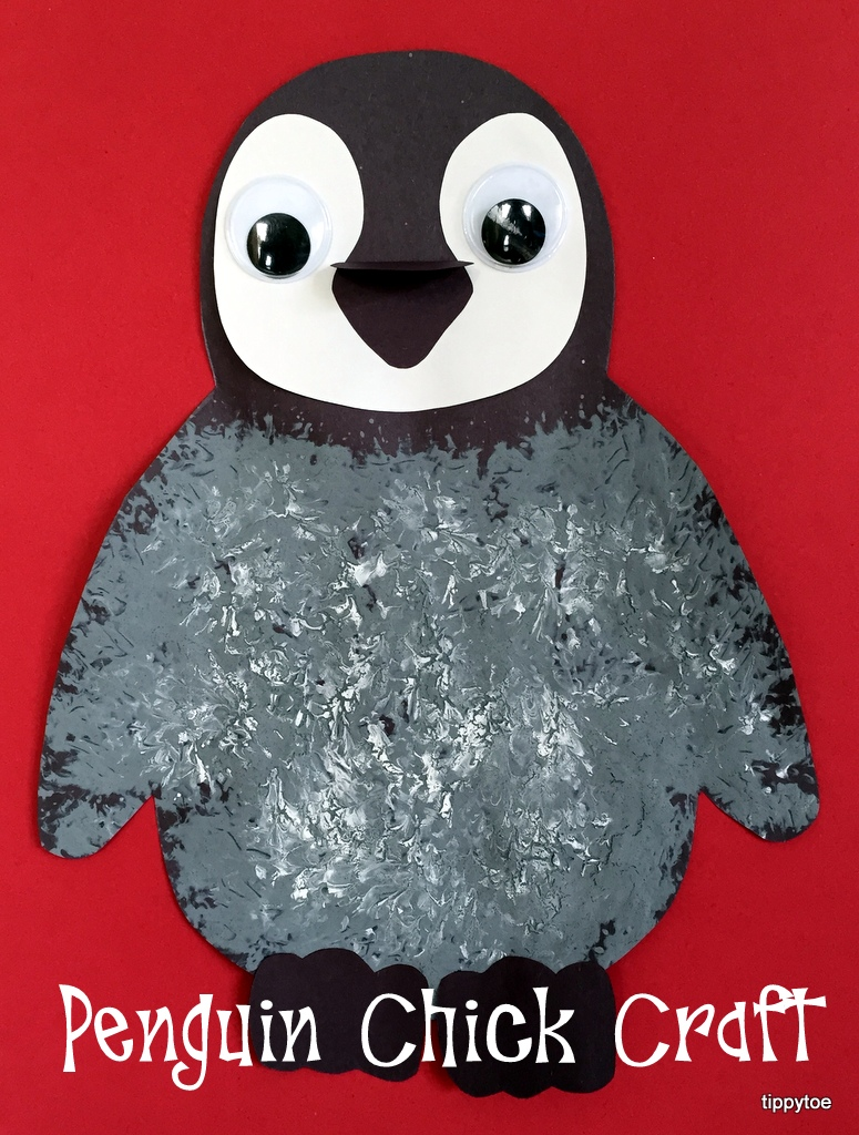 Tippytoe Crafts Penguin Chick Craft