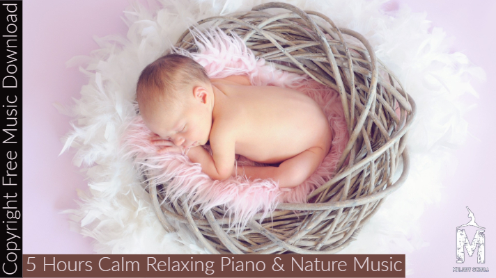 Copyright Free Music] 5+ Hours of Calm Relaxing Piano & Nature Music