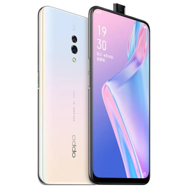 OPPO K3 with Pop-up Selfie Camera