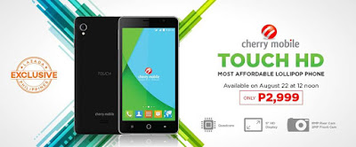 Cherry Mobile Touch HD Specs