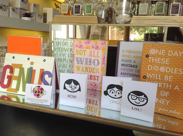 Perfect dinner party gifts - stationery from Breathe boutique