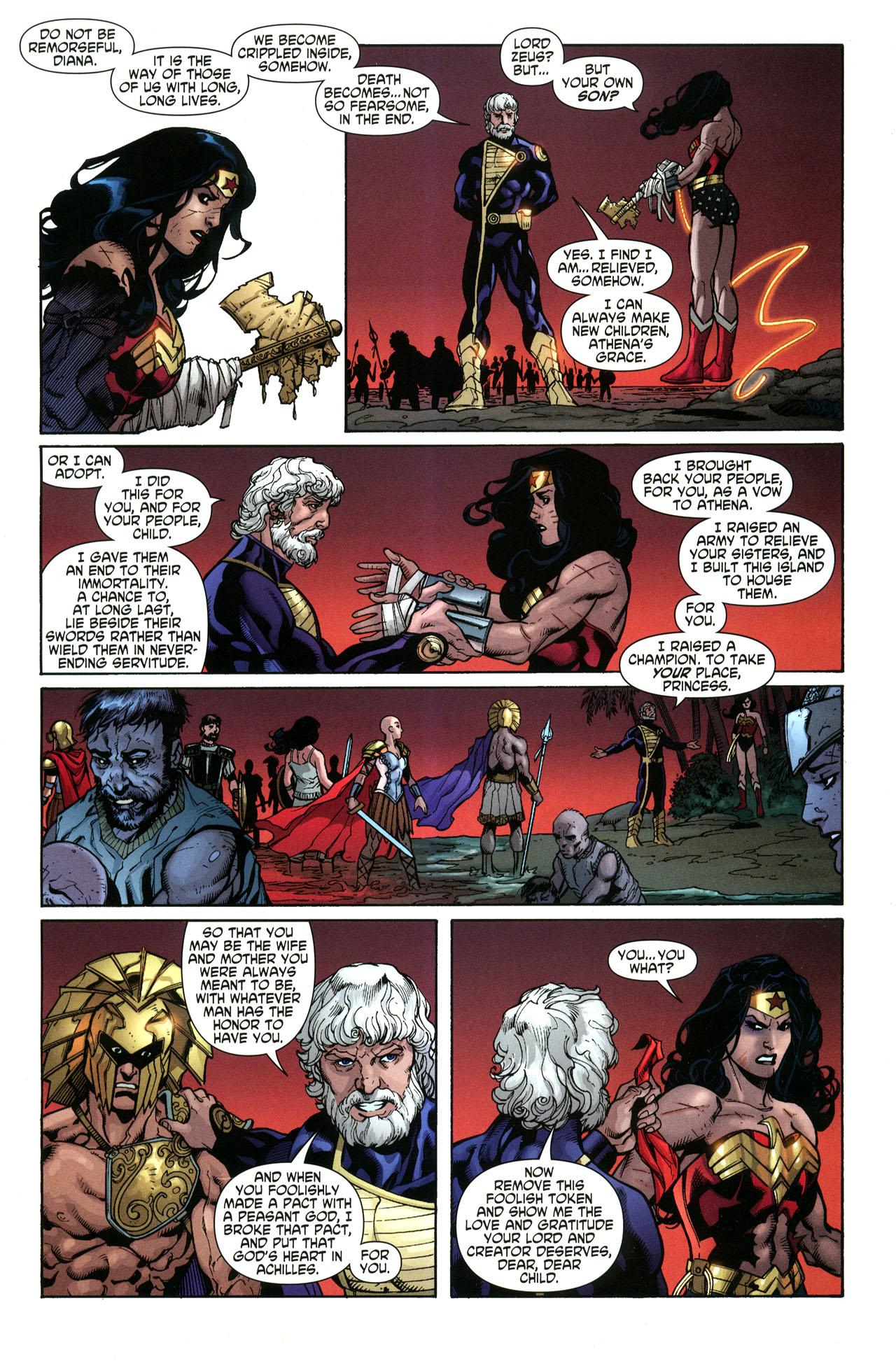 Read online Wonder Woman (2006) comic -  Issue #33 - 20