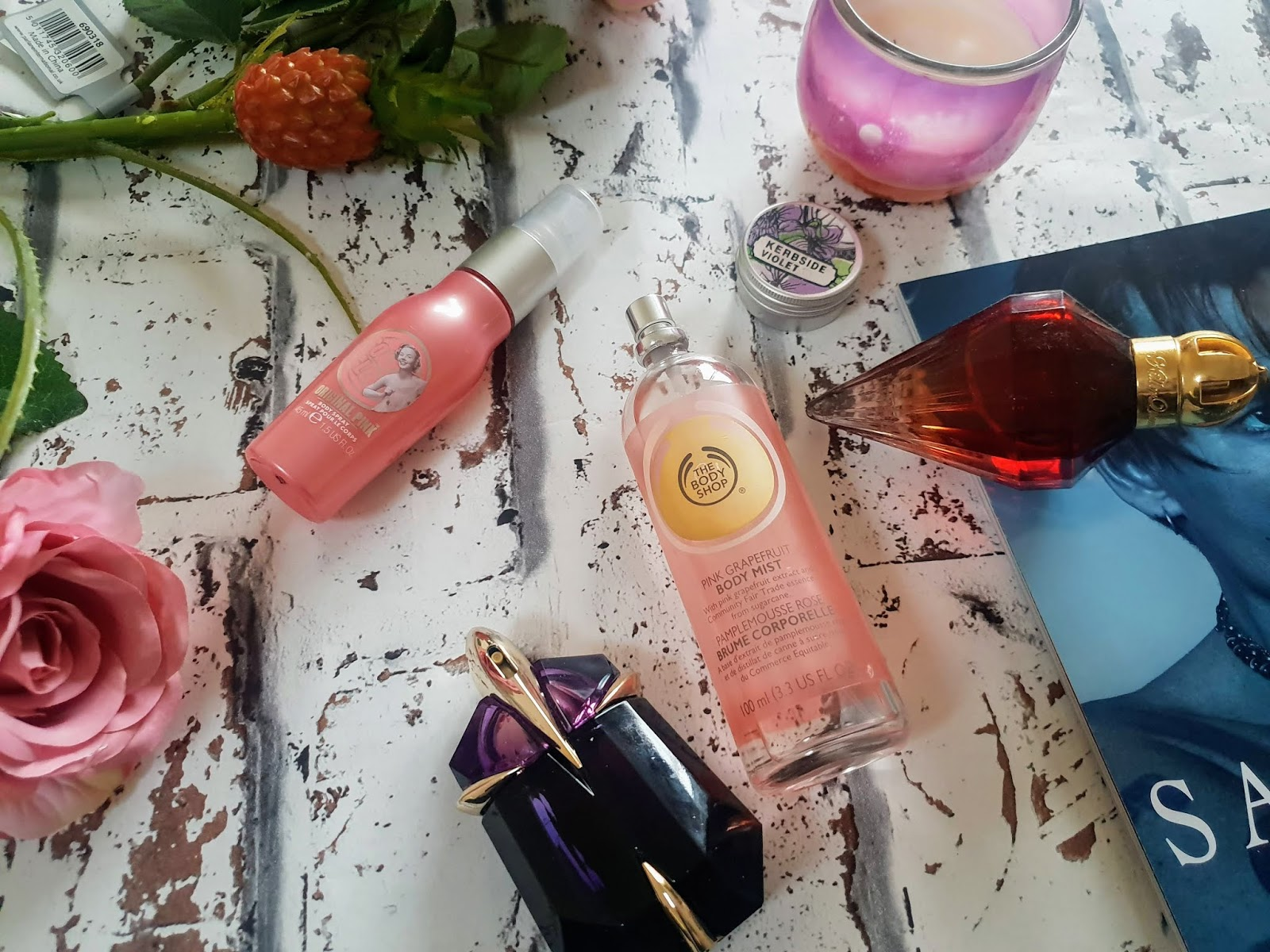 my favourite summer fragrances