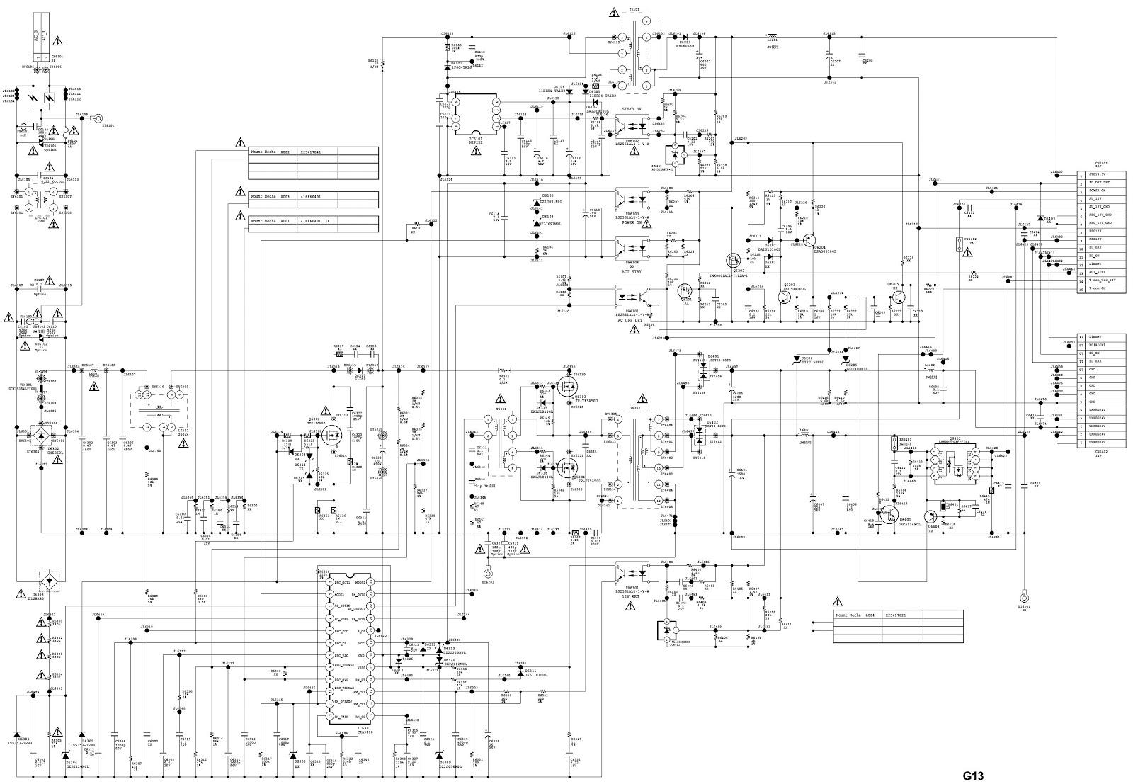 Sony Television Circuit Diagram Manual Of Wiring T V Kdl32bx327 40bx427 Chassis Az2 Ek Lcd Digital Color Tv Smps Rh Schematicscom Blogspot Com Pdf Crt Schematic