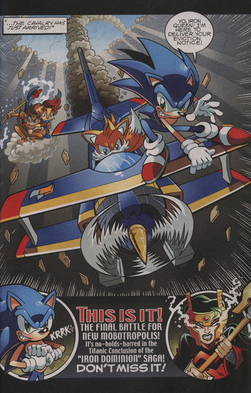 Read online Sonic The Hedgehog comic -  Issue #210 - 24