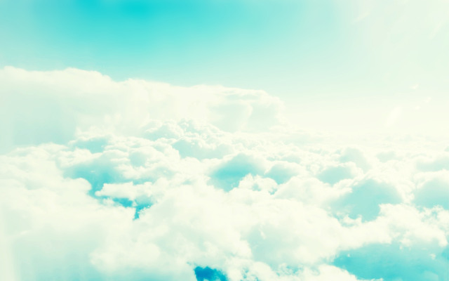 Windows 8 Blue Clouds Wallpapers