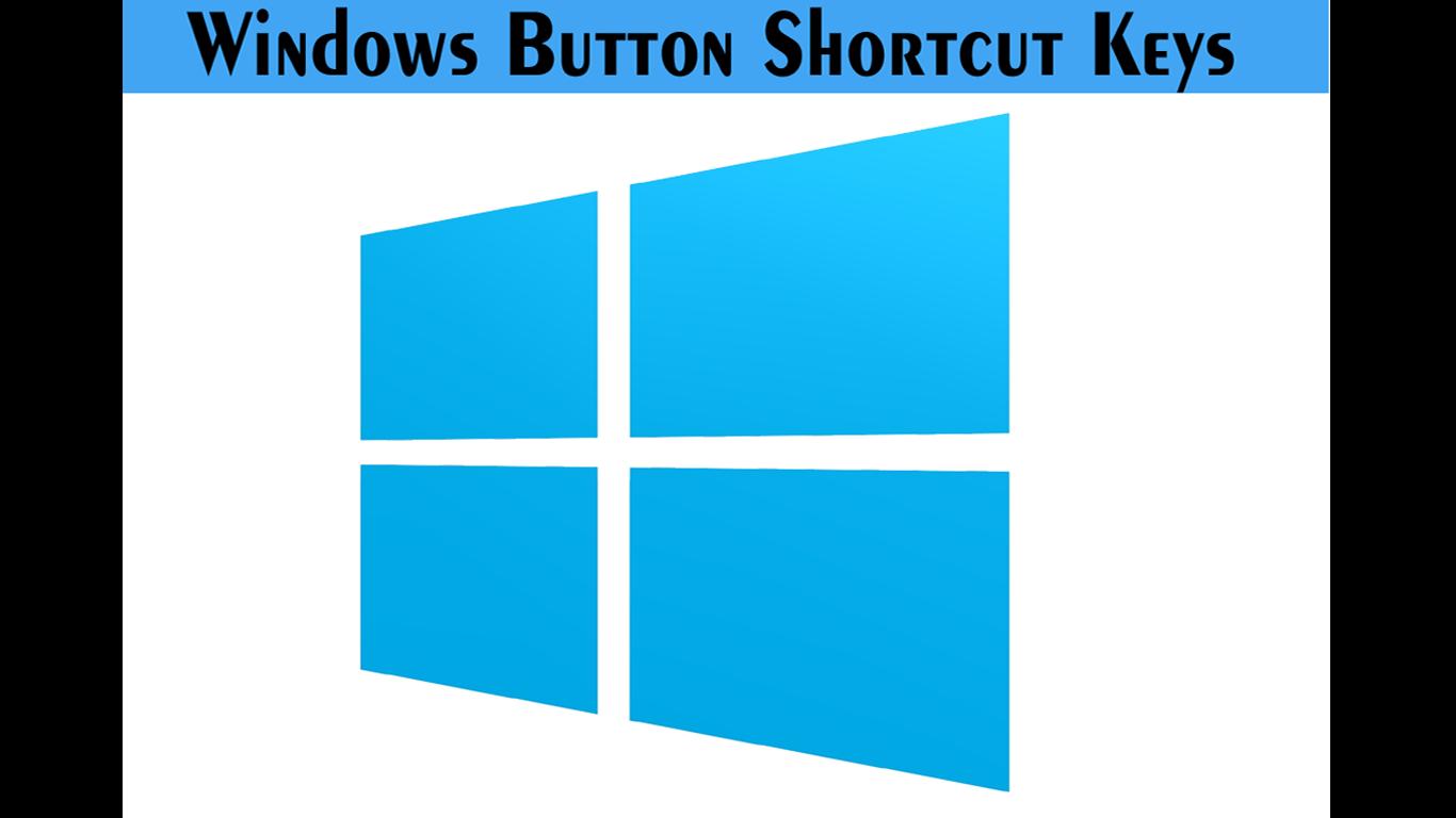 Windows Button Shortcut Keys | SoftSolution