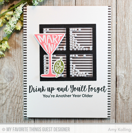 Handmade card by Amy Kolling featuring products from My Favorite Things #mftstamps