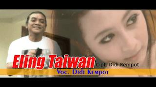 Lirik Lagu Eling Taiwan - Didi Kempot