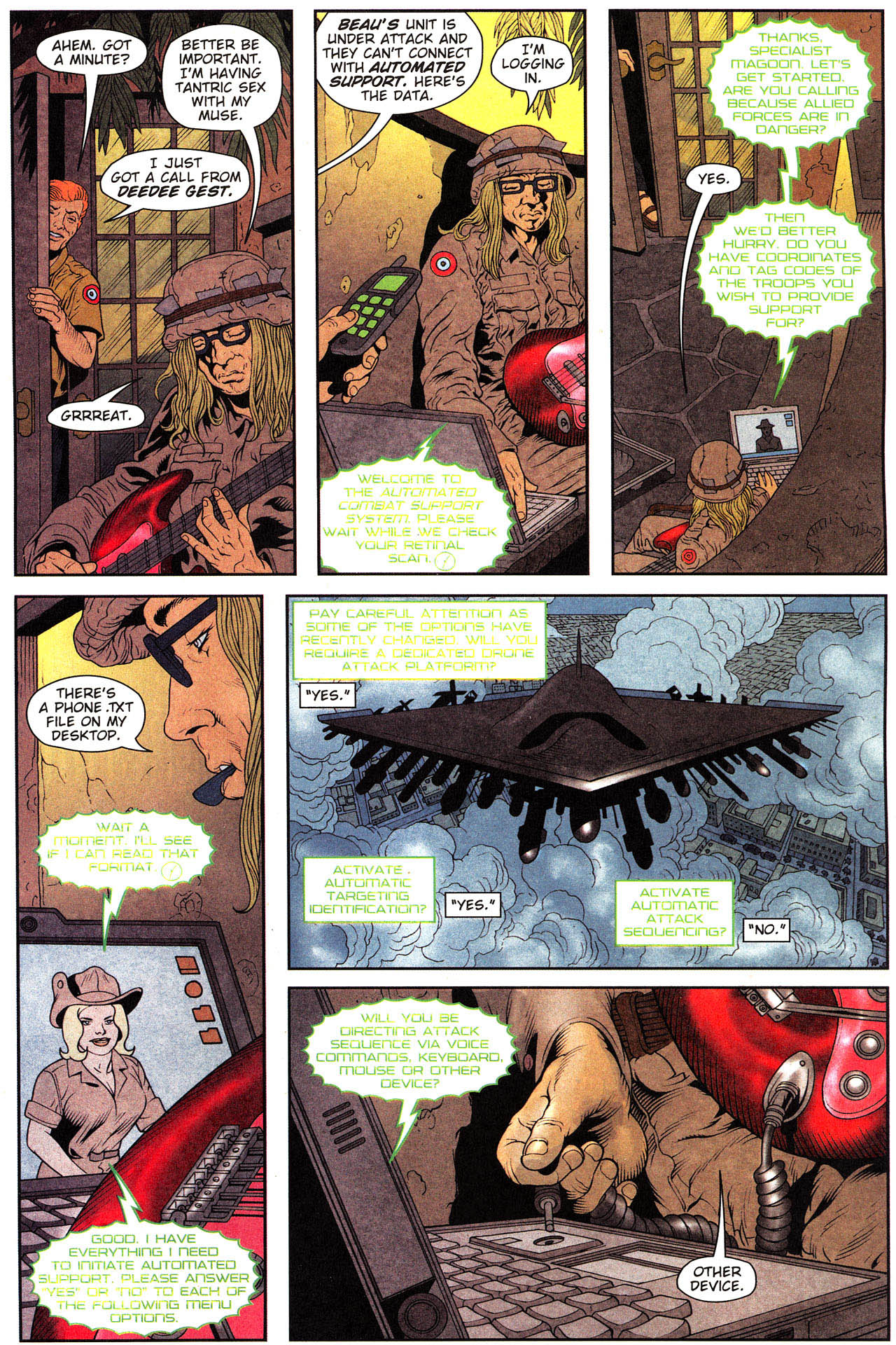Read online Army @ Love comic -  Issue #2 - 14
