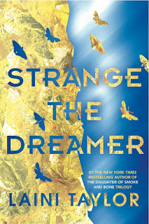 Strange The Dreamer by Laini Taylor cover