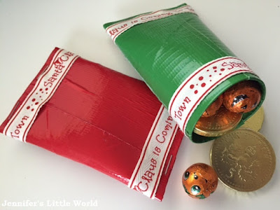 Christmas crafts using ribbon
