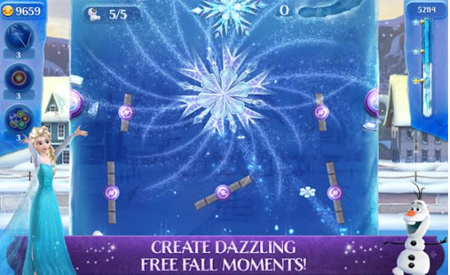 Frozen Free Fall: Icy Shot Mod Apk3