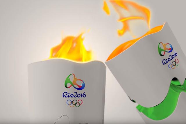 La antorcha olímpica tiene Twitter