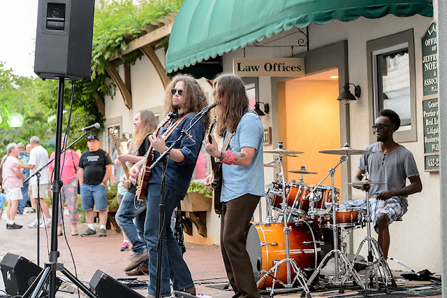 The Dirty Soul Revival at the Waynesville Block Party