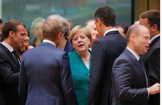 Merkel Got a Respit at Home as EU Leader Reach Immigration Deal