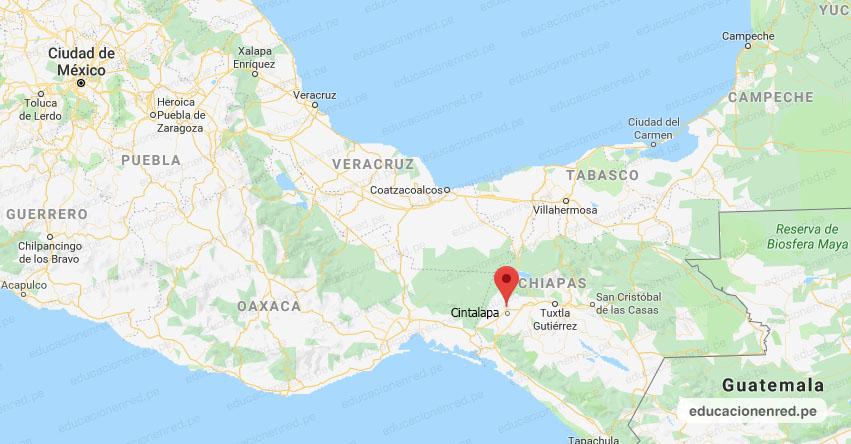 Temblor en México de Magnitud 4.0 (Hoy Jueves 28 Noviembre 2019) Sismo - Epicentro - Cintalapa - Chiapas - CHIS. - SSN - www.ssn.unam.mx