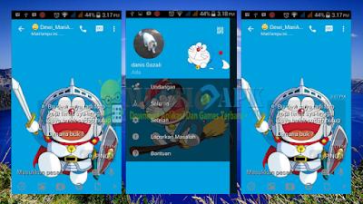 Update BBM Mod Doraemon v2.13.1.14 APK