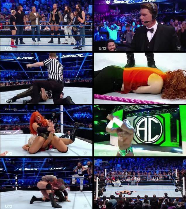 WWE Smackdown Live 08 Nov 2016 HDTV 480p