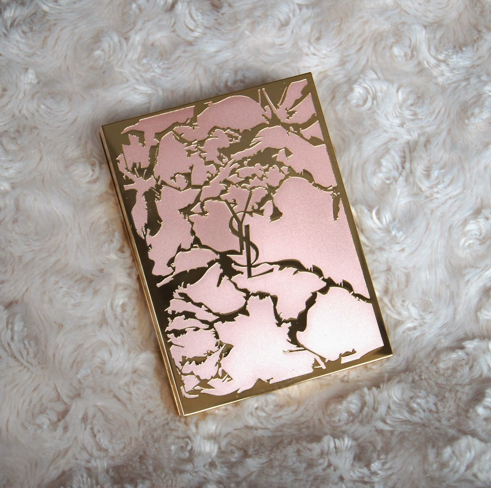 ysl flower crush palette rosy blush review