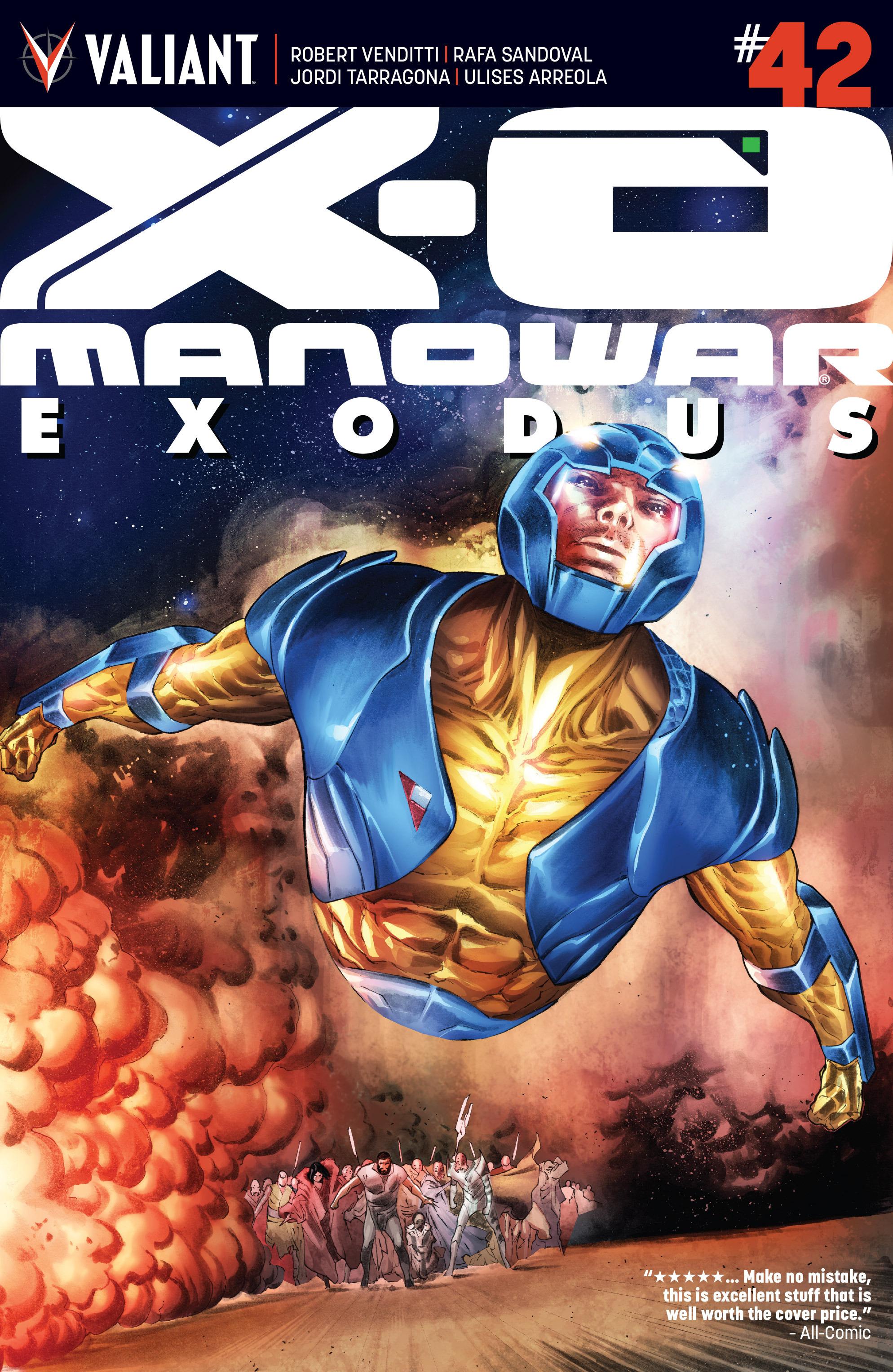 X-O Manowar (2012) 42 Page 1